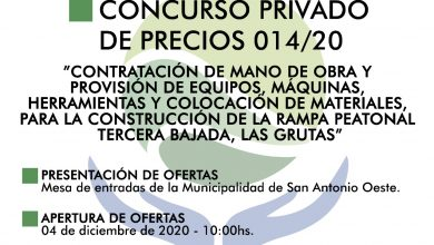 Photo of CONCURSO PRIVADO DE PRECIOS 014/20